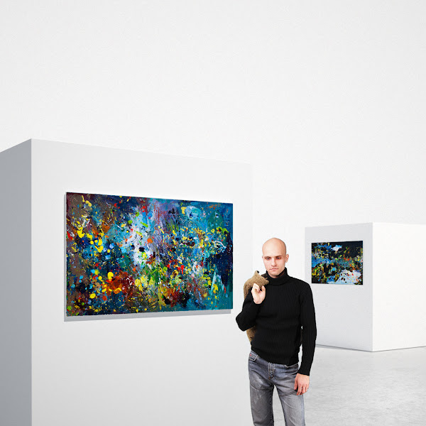 Photo: Painted by Radim Kacer - oil painting 150x90 cm
