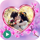 Love Video Maker With Music v 1.1 app icon