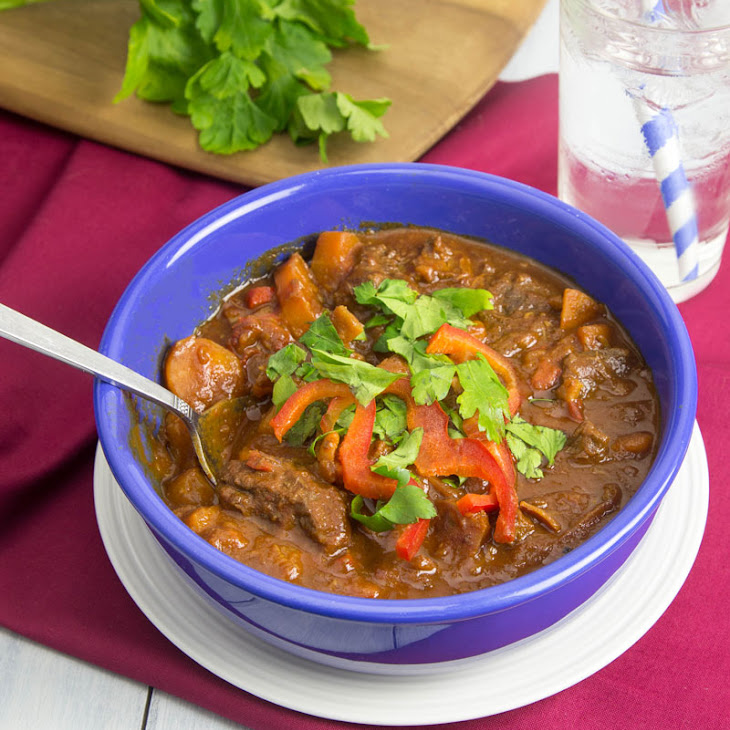 (Make-and-Freeze) Hungarian Beef Goulash Recipe