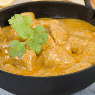 Traditional Indian Chicken Curry.