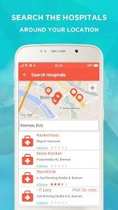 Med Locat - Hospital Locator screenshot 3