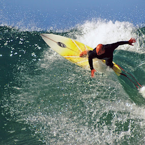 by Gavin Falck - Sports & Fitness Surfing ( watersport, surfing, wave, sport, gavin falck )