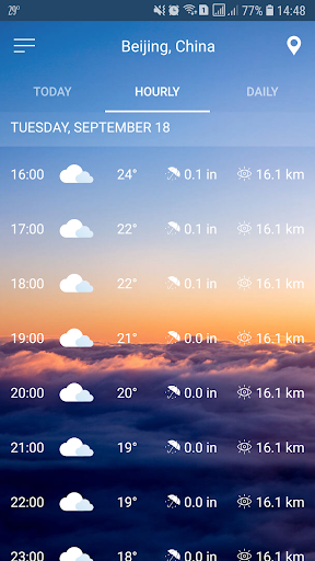 النشرة الجوية screenshot 8