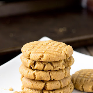 Soft Peanut Butter Cookies.
