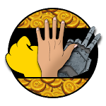 Rocksper - Rock scissors paper: The endless battle Icon