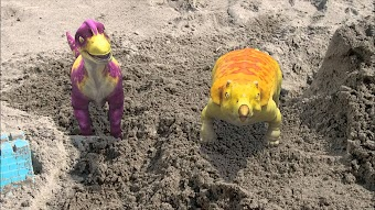 Rettet die Sandburg / Sag was, Dino