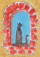 Photo: Cat In A Window 2