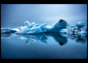 """Photo: New photo from Iceland, made in the unforgettable Jokulsarlon glacier lagoon.  """"The Crackling Silence"""" 
