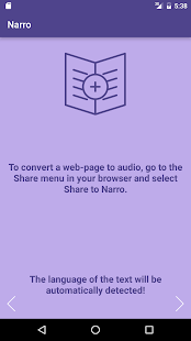 Narro: Articles to Audio- screenshot thumbnail