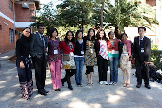 Photo: youth delegates 2009 from Asia