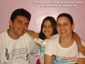 Photo: Prontos para o Show do Roberto Carlos em Brasília no próximo dia 02/08/2008. Muitas EMOÇÕES nos aguardam...