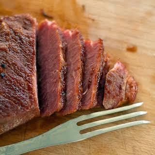 Whiskey Glazed Corned Beef.