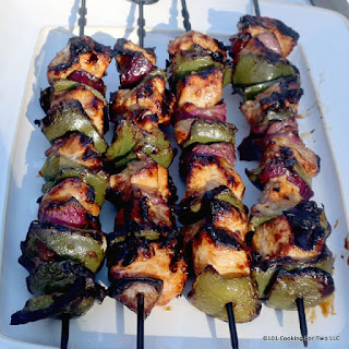 Honey Garlic Chicken Kabobs Recipes