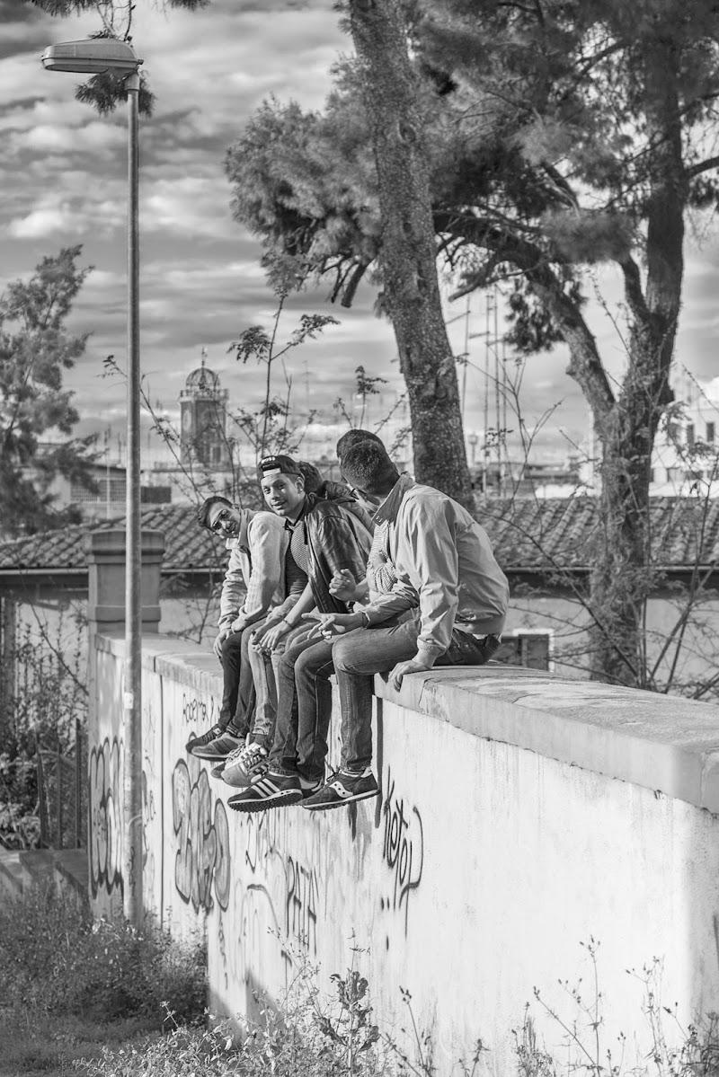 I ragazzi del muretto di Claudio Enea