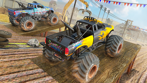 Xtreme Destruction Monster Truck Stunts  screenshots 3