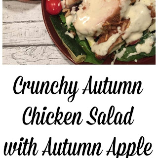 Crunchy Autumn Chicken Salad