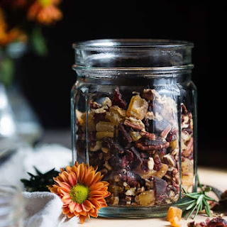 Fall Trail Mix Recipe with Protein.