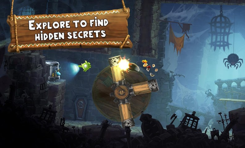 android Rayman Adventures Screenshot 15