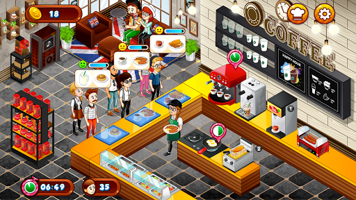Cafe Panic: Cooking Restaurant apkpoly screenshots 13