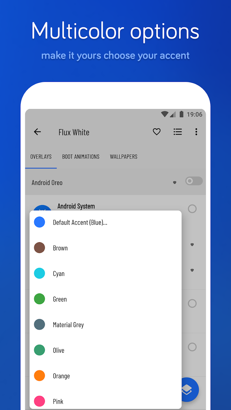 Flux White - Substratum Theme Screenshot 8