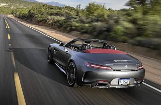 Michael's biggest highlight was rushing across Arizona in a Mercedes-AMG GT C