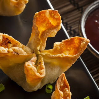 Imitation Crabmeat Rangoon.