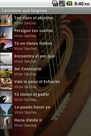 Canciones que Inspiran - screenshot