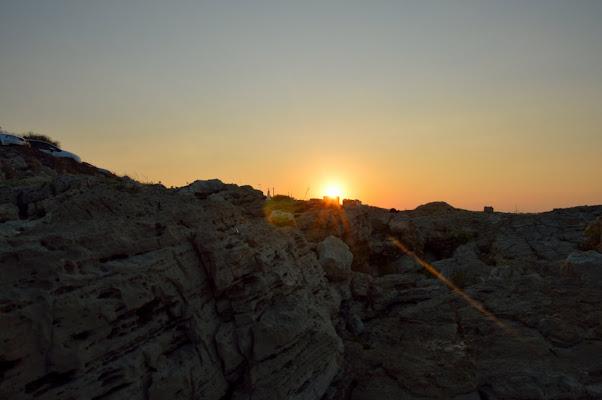 tramonto di roccia di g.de.f