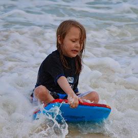Surfin' by Dale Kemp - Babies & Children Children Candids (  )