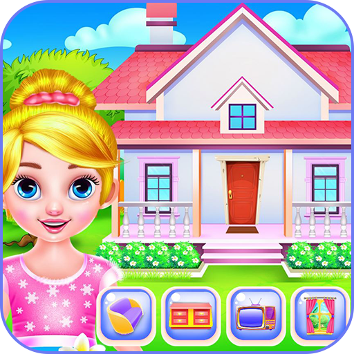 Create your own doll house Icon