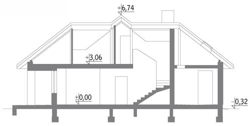 Domowe klimaty - M121 - Przekrój