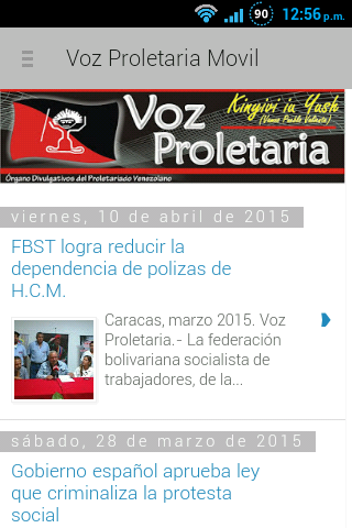Voz Proletaria Móvil