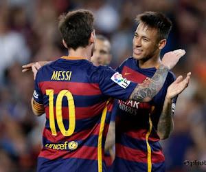 Neymar et Messi finalement remis pour la finale?
