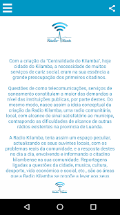 Download Rádio Kilamba For PC Windows and Mac apk screenshot 2