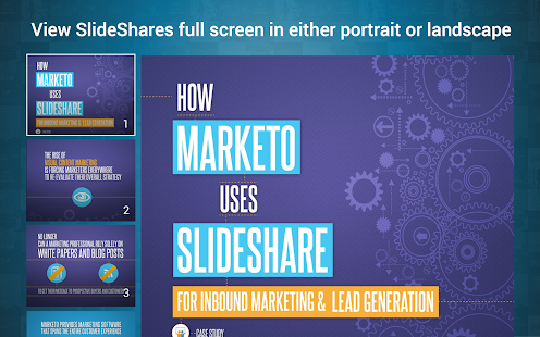 LinkedIn SlideShare Screenshot