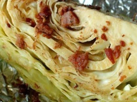 Roasted Cabbage Wedges Recipe