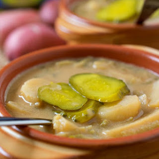 Polish Dill Pickle Soup