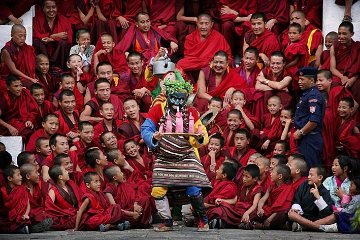 Photo: Thimpu Festival, Thimpu , Bhutan Photo copyright: Timothy Allen Twitter - http://twitter.com/MrTimothyAllen Instagram - http://instagram.com/timothy_allen