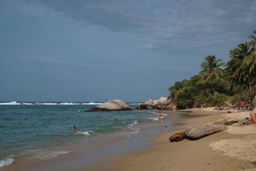 Plaża, park tayrona