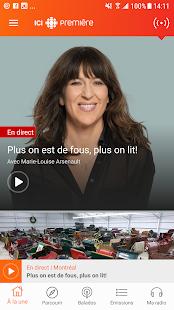 ICI Radio-Canada Première - náhled
