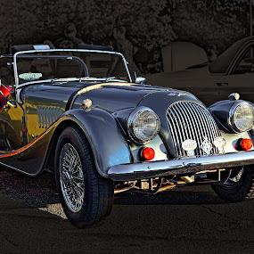 Richard's Morgan by JEFFREY LORBER - Transportation Automobiles ( jeffrey lorber, cars, car hpto, morgan, english cars, lorberphoto, rust 'bn chrome )
