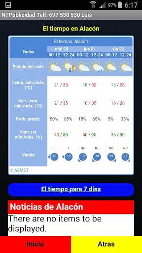 Info Alacu00f3n 1.0 screenshots 3