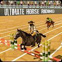 Horse Riding Jumping Stunts icon