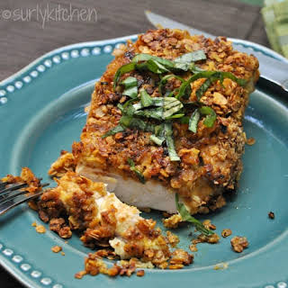 Oatmeal Crusted Chicken.