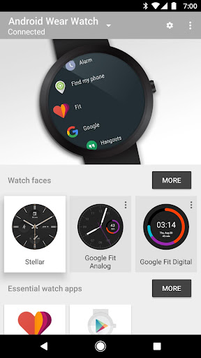 Android Wear - Smartwatch screenshot 1