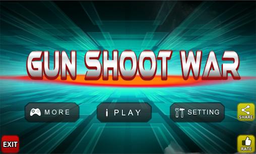 Gun Shoot War 6