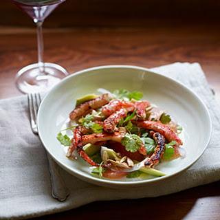 King Crab Salad with Grapefruit and Avocado