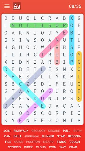 Word Search 5.0 screenshots 1