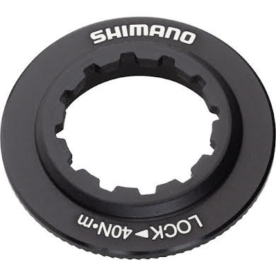 Shimano XT SM-RT81 Disc Brake Rotor Lock Ring and Washer