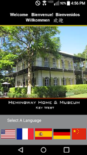 Hemingway Home App- screenshot thumbnail